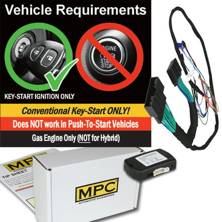 Plug-n-Play OEM Remote Activated Remote Start Kit For 2015-2018 Ford