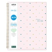 Blue Sky Large Weekly and Monthy Planner Wire Binding