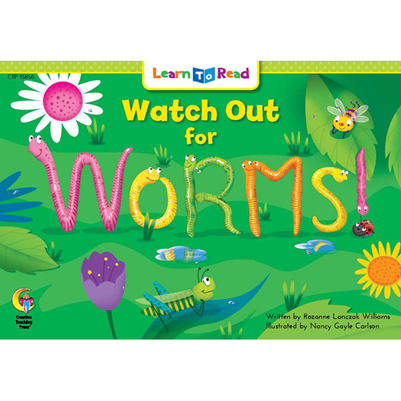 Watch Out For Worms Learn To Read - image 1 de 1