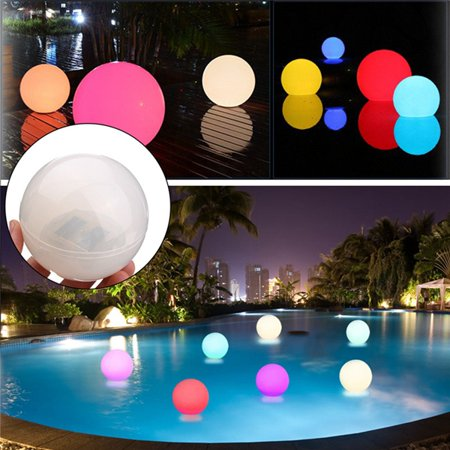 Color Changing LED Light Ball, Solar Pool light, Waterproof Cordless  Floating Underwater Night Lights, for Swimming Pool, Patio, Lawn, Hot Tubs,  ...