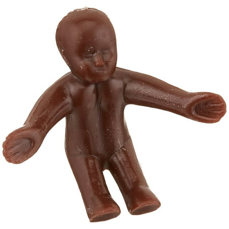24-Piece Mardi Gras 3D Baby Topper for King Cake, African American Sitting Standing babies for King's cake or Baby Showers By Oasis Supply (La Kings Cake)