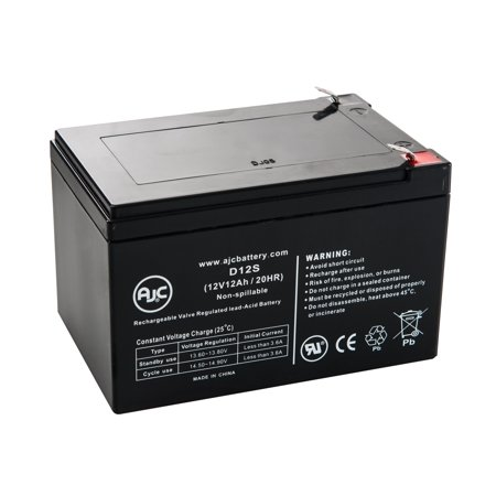 Wilson Tennis Ball Machine 12V 12Ah Tennis Ball Machine Battery - This is an AJC Brand Replacement