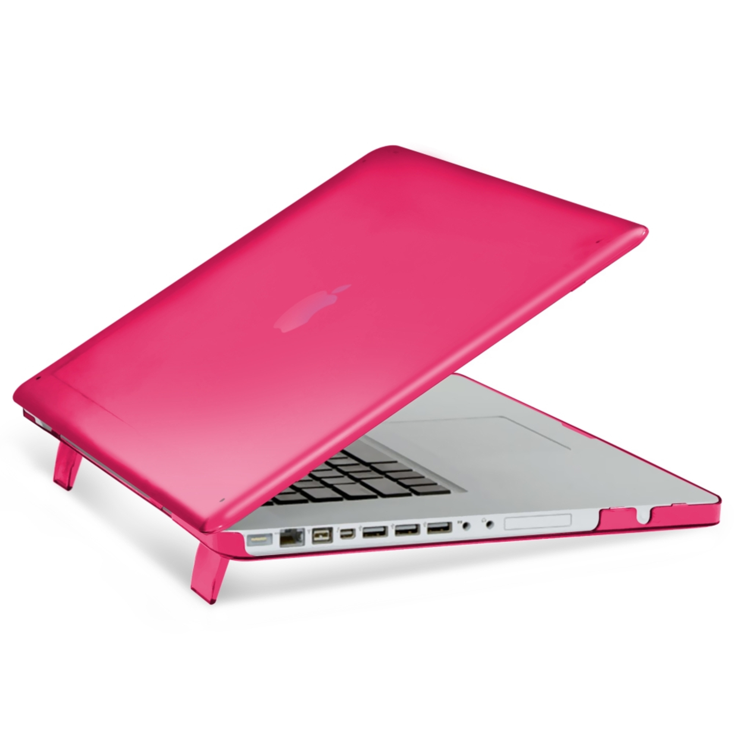 "Insten For Apple MacBook Pro 15.4"" 15"" A1286 Unibody Matte Rubber Coated Hard Case Cover Pink"