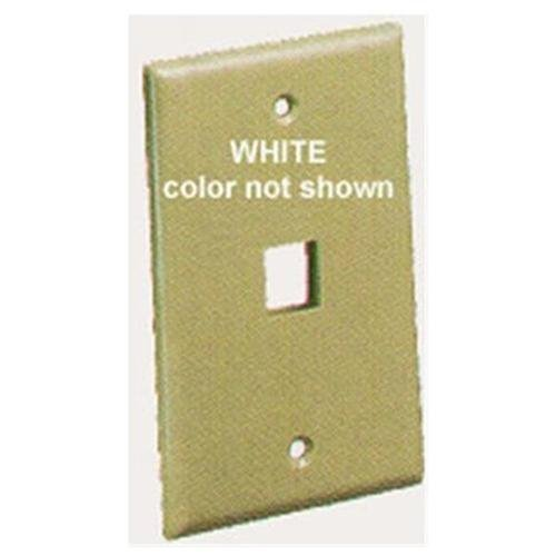 Icc Face-1-wh Ic107f01wh - 1port Face White (face1wh)
