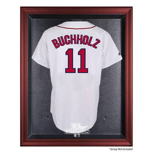 Boston Red Sox Fanatics Authentic 2013 MLB World Series Champions Mahogany Framed Jersey Case - No Size