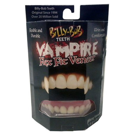 The Original Billy-Bob Flex Fit Vampire Teeth (Vampire Halloween Teeth)