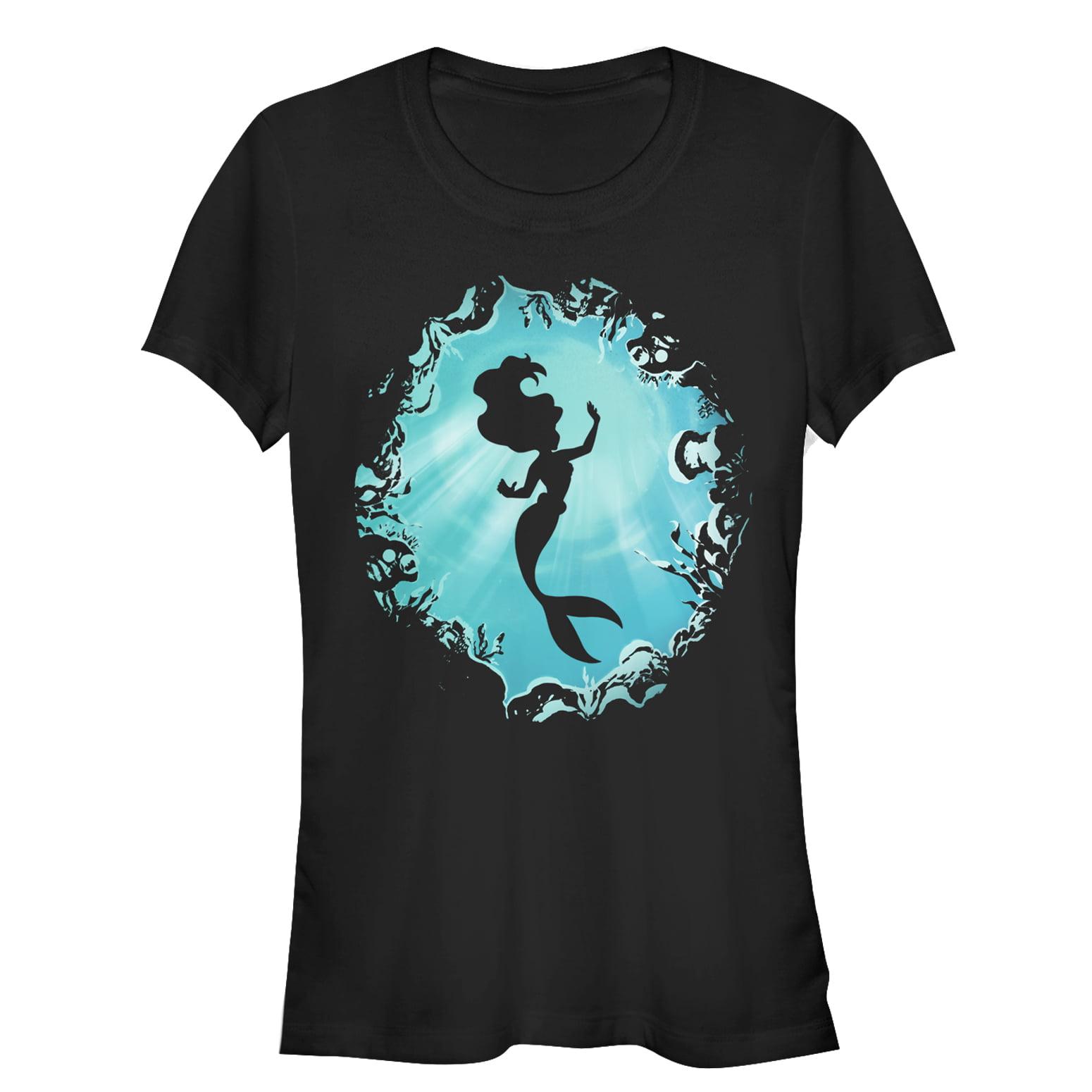 The Little Mermaid Juniors' Ariel's Grotto T-Shirt