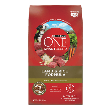 Purina ONE SmartBlend Natural Lamb & Rice Formula Adult Dry Dog Food - 8 lb. Bag - Lamb Dog Costume
