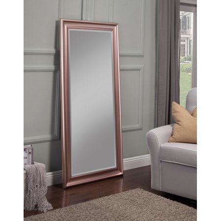Full Length Leaner Mirror, Rose Gold, 65