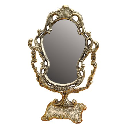 Antique Cast Brass Vanity Mirror Table Make Up | Renovator's Supply Allied Brass Table Mirror