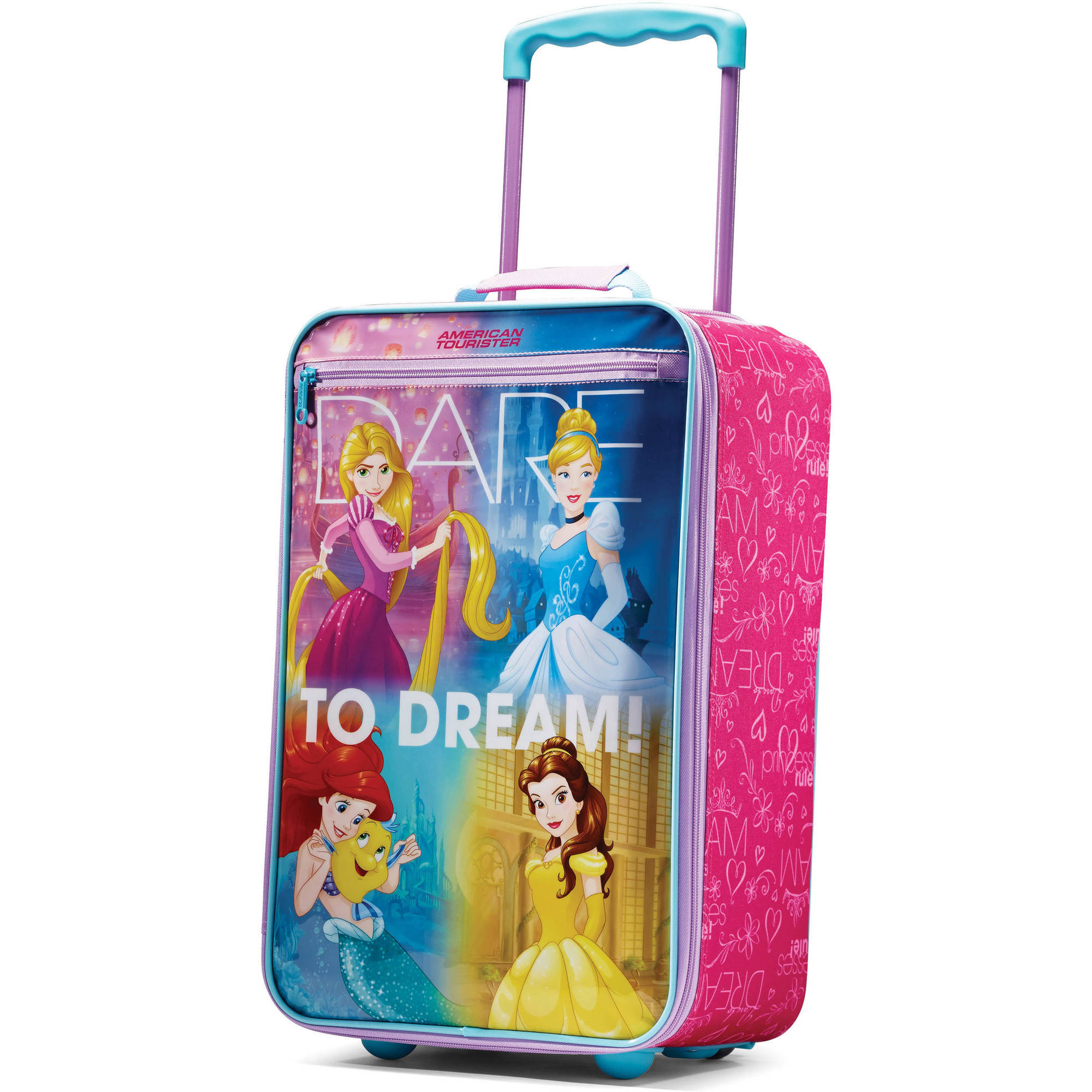 "American Tourister Disney 18"" Softside Luggage - Princesses"
