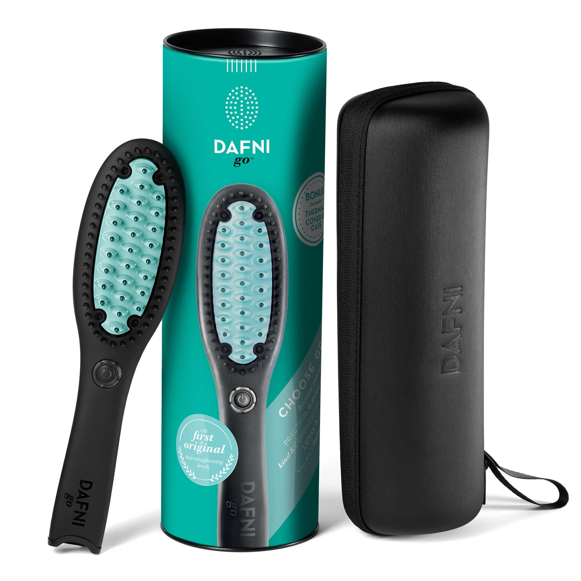 Dafni go Hair Straightening Brush Green