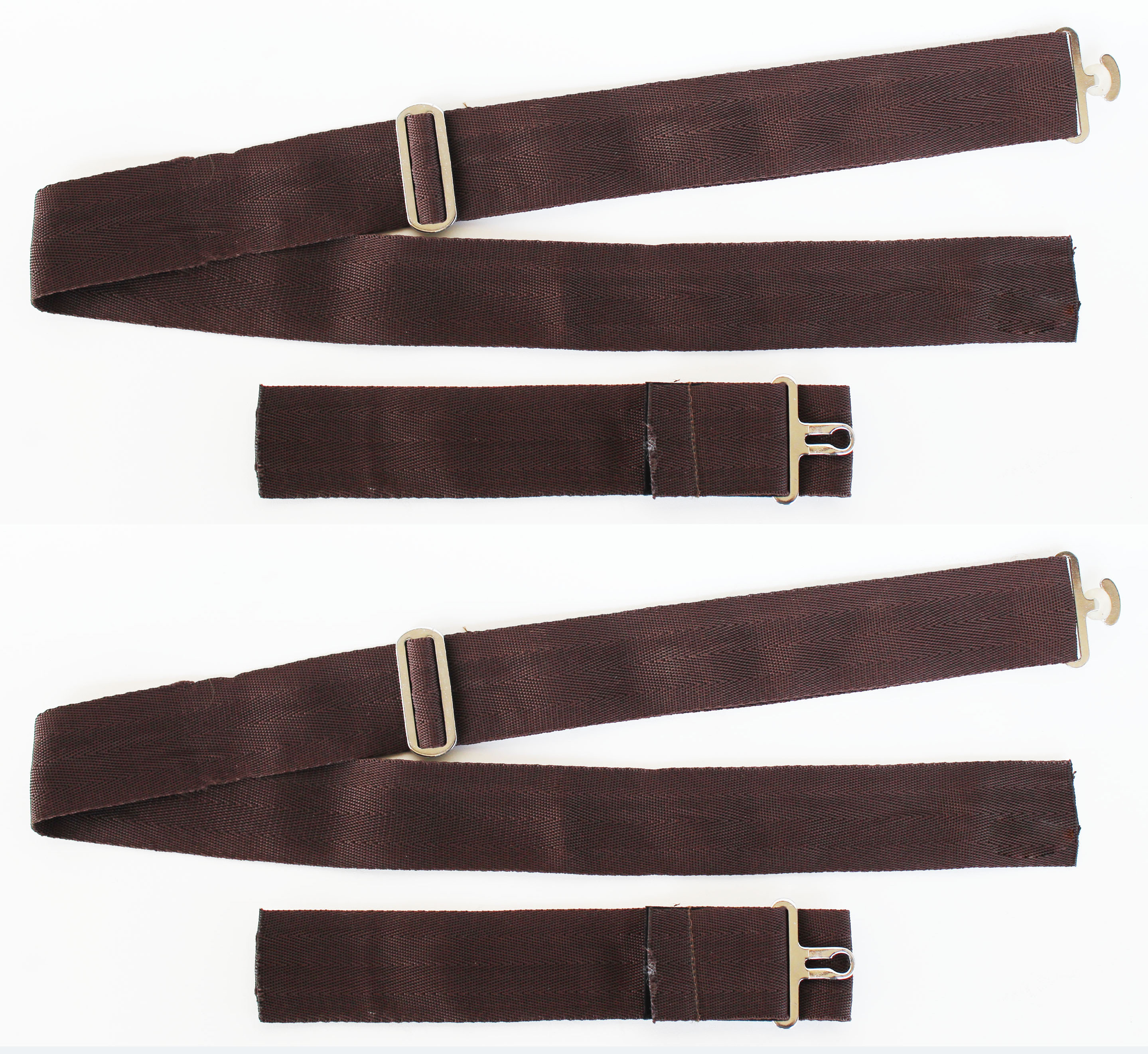 "Horse Blanket Replacement Adjustable 2 "" Wide Nylon Belly Strap(sew on) 403Bsset"