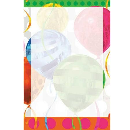 Balloon Invitations (Balloons Brights Imprintable Invitations with)
