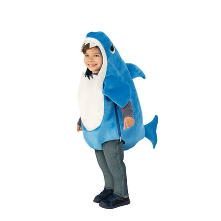 Daddy Finger Song Halloween (Rubies Costume Company Daddy Shark Blue Toddler Halloween)