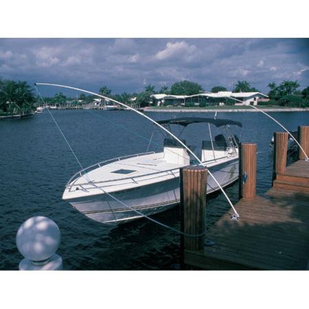 Taylor Made PMW1600 Premium Mooring Whip w/ Rocker Arm Base - 16' (Boats Up to 34'-46' / 20000-36000 (Premium Mooring Whip)