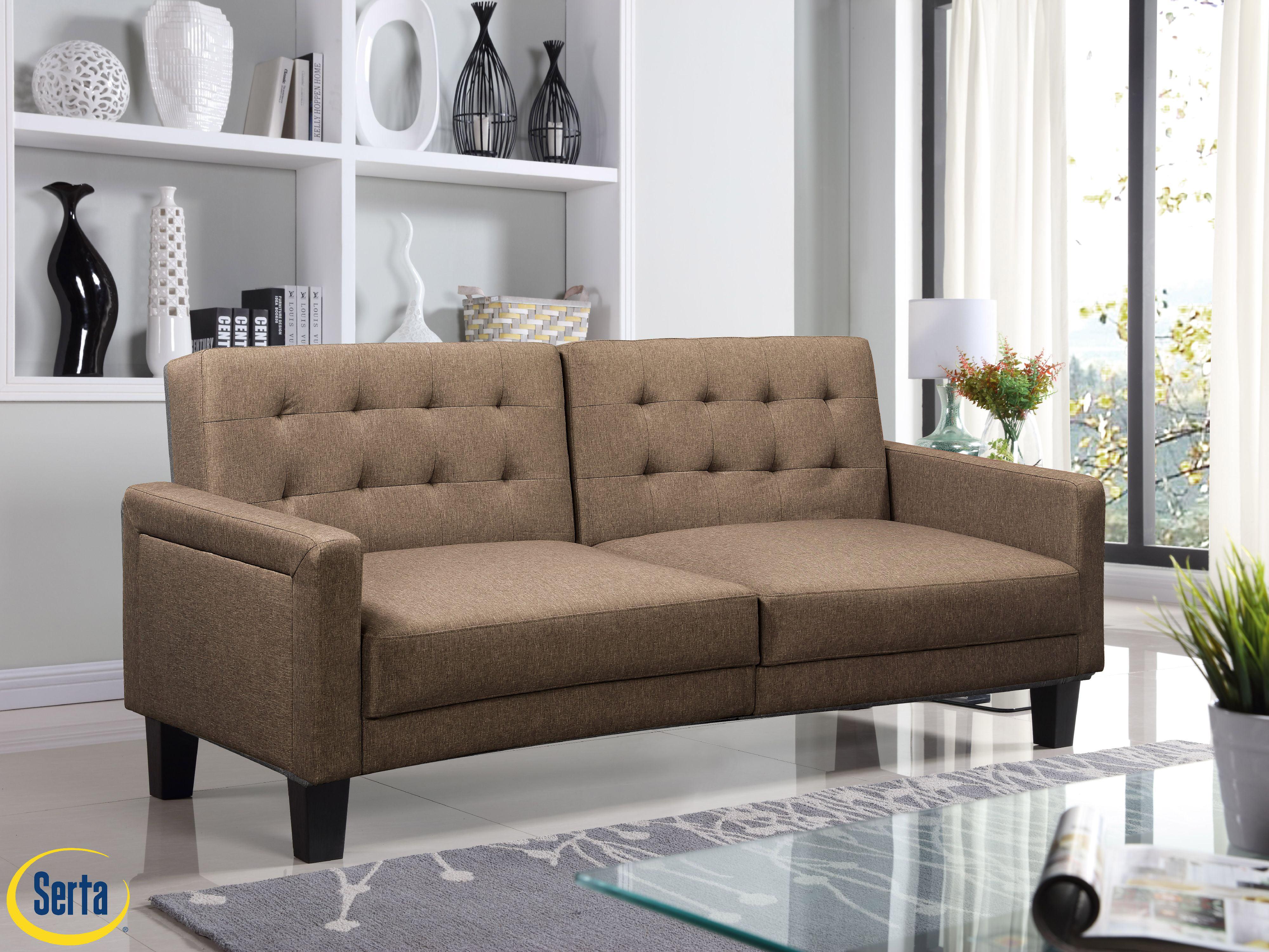 Serta Tivoli Sofa Bed Sand