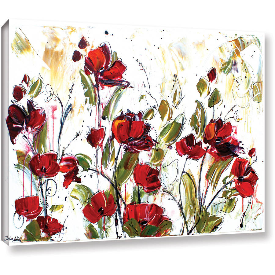 "ArtWall Jolina Anthony ""Floral"" Gallery-Wrapped Canvas"