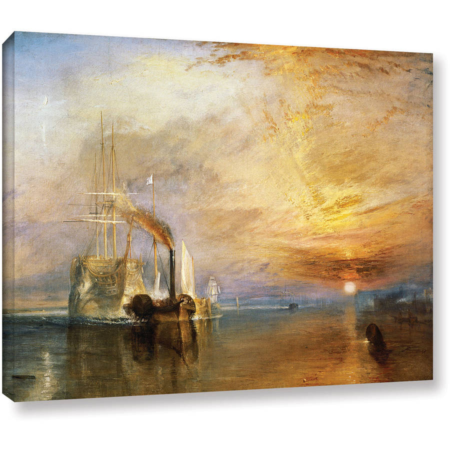 "William Turner ""The Fighting Temeraire"" Gallery-Wrapped Canvas Art"