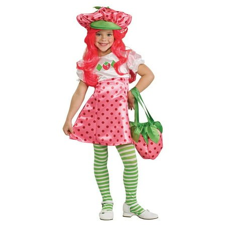 Strawberry Shortcake Girl Costume (Deluxe Strawberry Shortcake Child Costume -)