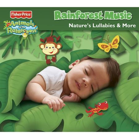Fisher-Price Animals of the Rainforest Nature's Lullabies & More CD - Fisher Price Animals Of The Rainforest