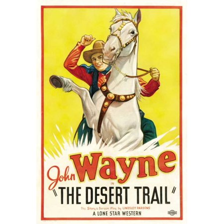 The Desert Trail POSTER (27x40) (1935) (Style B)](Organ Trail Halloween)