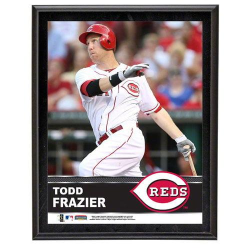 MLB - Todd Frazier Sublimated 10x13 Plaque | Details: Cincinnati Reds