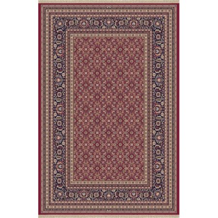 Image of Brilliant 7 ft. 10 in. x 11 ft. 2 in. 72240-330 Rug - Red