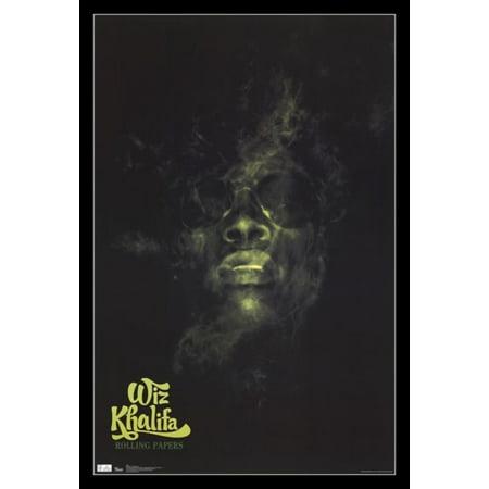 Wiz Khalifa - Rolling Papers Poster Print - Wiz Khalifa Halloween Beat