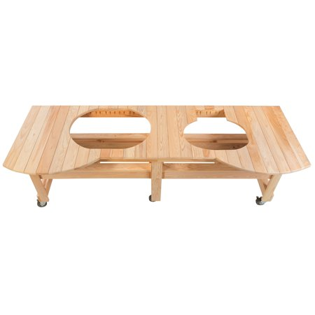Primo Cypress Grill Event Table Primo Cypress Wood Table