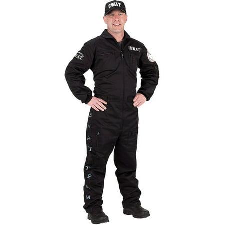 Swat Uniform Adult Halloween Costume - Walmart.com
