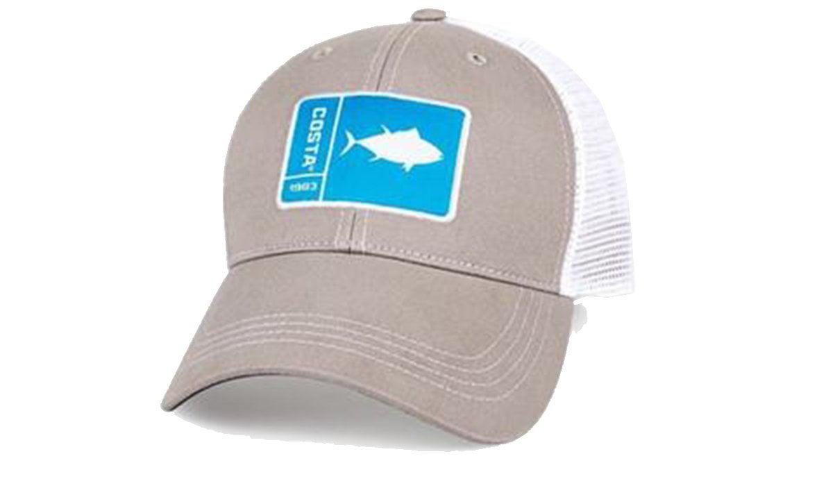 f5ddd22510 ... new zealand original patch tuna gray white new 2017 hat by costa del mar  3b01e ccb49