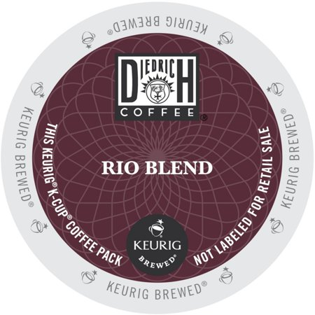 Diedrich Rio Blend Coffee, K-Cup Portion Pack for Keurig Brewers (24 Count) (Coffee Rio Sugar)