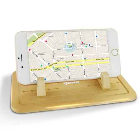 Ipow Silicone Pad Dash Mat Cell Phone Sticky Car Mount
