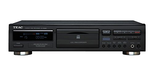 Teac CD Recorder, PLAYS & RECORDS CD, CD-R, and CD-RW Discs with Free Remote Control Included by TEAC