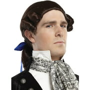 Ponytail Adult Bow Brown Halloween Wig