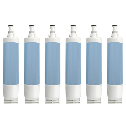 Replacement Water Filter for Whirlpool 4396508 / WF285 / WSW-2 (6 Pack)