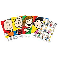 Eureka Peanuts Classroom Decoration Kit Pack Of 7 Walmart Com