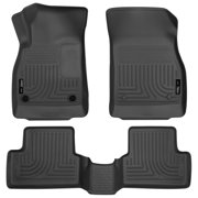 Husky Liners Front & 2nd Seat Floor Liners Fits 11-15 Cruze, 16-16 Cruze Limited