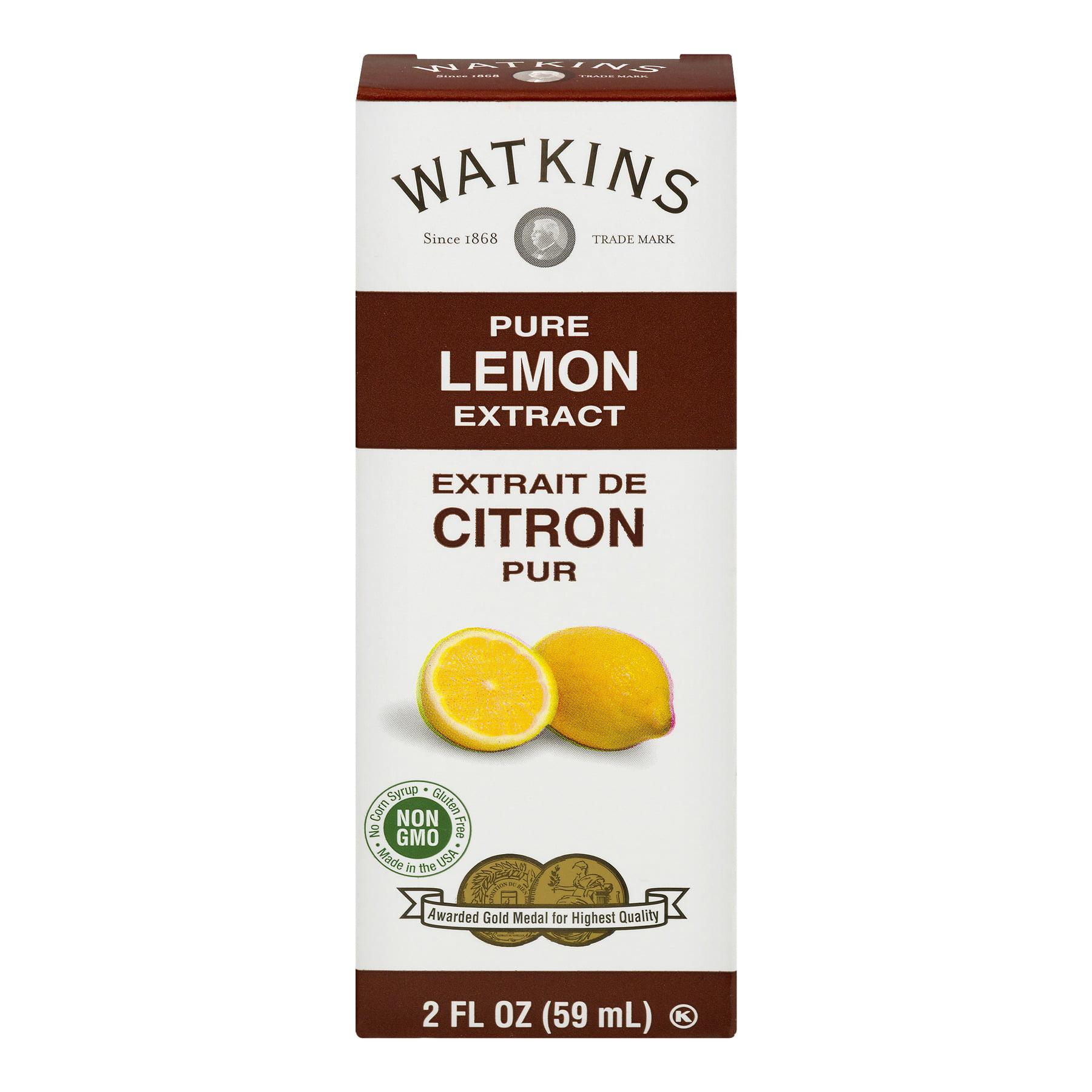 Watkins Pure Lemon Extract, 2 Oz