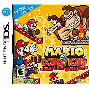 Mario vs. Donkey Kong: Mini-Land Mayhem! - Nintendo Ds (Refurbished) CO Cartridge