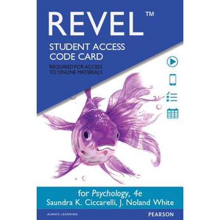 REVEL for Psychology -- Access Card (4th Edition), 9780133869811, Misc. Supplies,