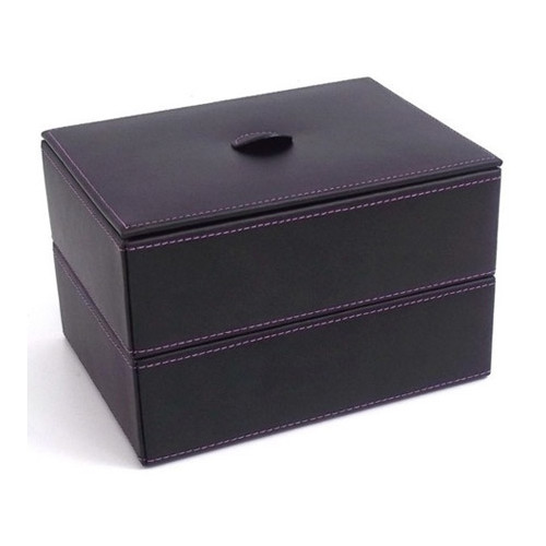 Bey-Berk Stacked Jewelry Box