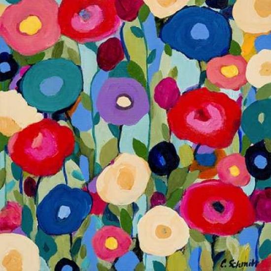 Summer Solstice Rolled Canvas Art Carrie Schmitt (12 x 12) by Image Conscious