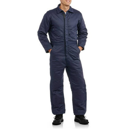 Men's Flame Resistant Insulated Coverall, HRC Level 2 (Chemical Resistant Coveralls)