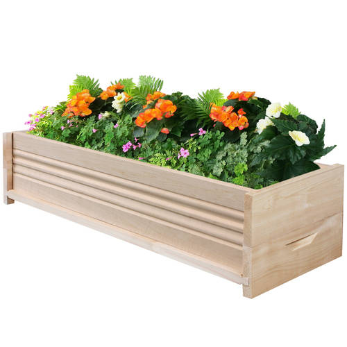 "Greenes Fence 30""L Cedar Planter Box"