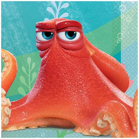 Disney Finding Dory Beverage Napkins, 16ct by