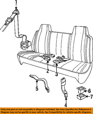 Dodge Chrysler Oem 9602 Ram 3500 Front Seat Beltassy 5ex64saz Walmart: Chrysler Sno Runner Wiring Diagram At Hrqsolutions.co