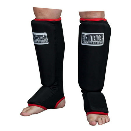 Contender Fight Sports MMA Slip-On Shin Instep Guards, (Best Mma Shin Guards Review)