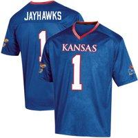 Toddler Russell Athletic Royal Kansas Jayhawks Replica Football Jersey